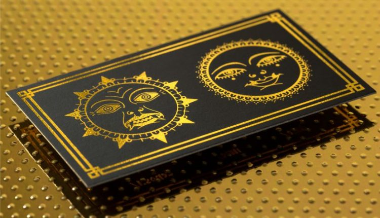 Getting the best quality Business Cards with gold foil